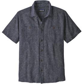Patagonia M's Back Step Shirt Goshawk Dobby/Neo Navy